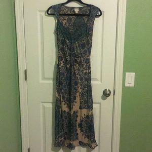 Anthropologie 100% silk dress